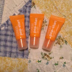 Clinique Pep Start Eye Creams 3 trial sizes